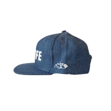 HILIFE logo Snapback hats Denim