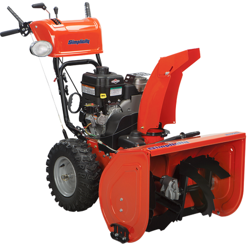 Simplicity H1226E Heavy-Duty Dual Stage Snow Blower