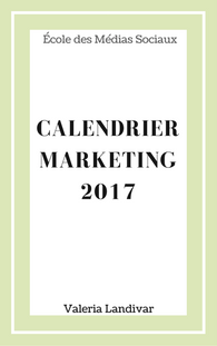 Calendrier marketing 2017