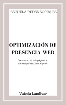 Optimización de presencia en Internet