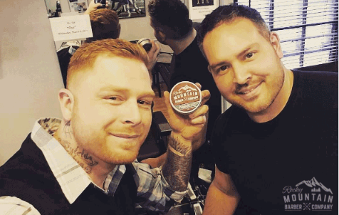 barbers with wholesale pomade