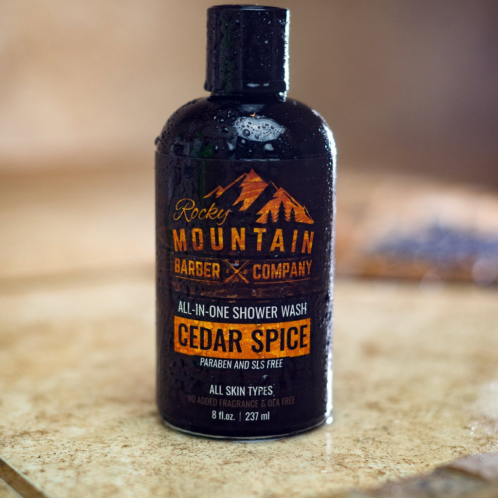 <strong>All-in-one Shower Wash | Cedar Spice</strong> <p>
