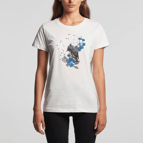 Forget Me Not 4001 MAPLE charity t shirts womens by m_illustrate autism t-shirt designs