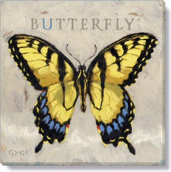 Gygi Butterfly | Canvas Wall Art | Medium