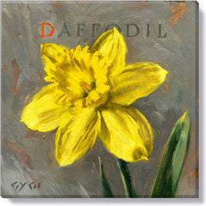 Gygi Daffodil | Canvas Wall Art | Small