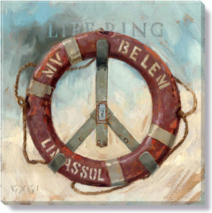 Gygi Life Ring | Canvas Wall Art | Medium