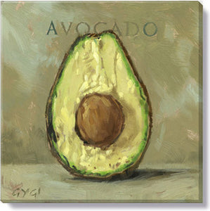 Gygi Avocado | Canvas Wall Art | Small