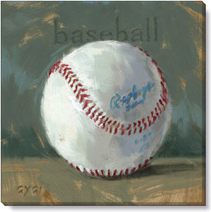 Gygi Baseball | Canvas Wall Art | Small
