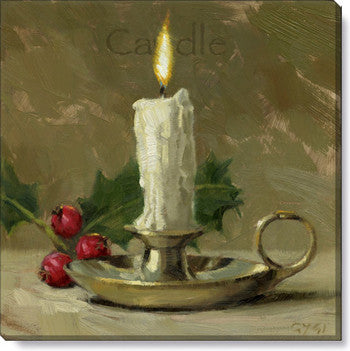 Gygi Candle | Canvas Wall Art | Small