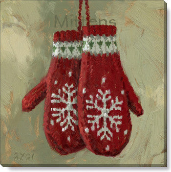 Gygi Mittens | Canvas Wall Art | Small