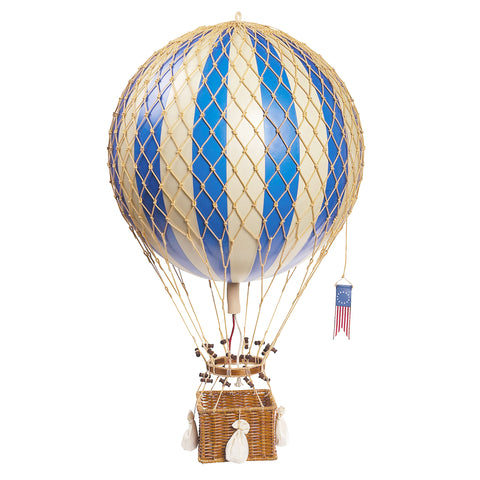 Royal Aero Ornamental Model Hot Air Balloon,  Blue