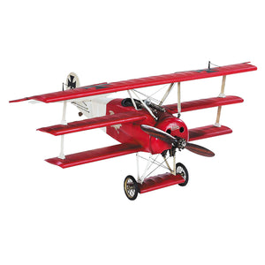 1917 Red Baron Fokker Triplane Scale Desktop Model