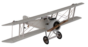 Sopwith Camel Desktop Model Plane, Small, White