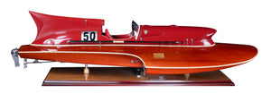 Chris Craft Thunderboat Model Speed Boat
