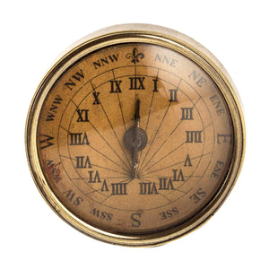 18th C. Compass-Sundial, small