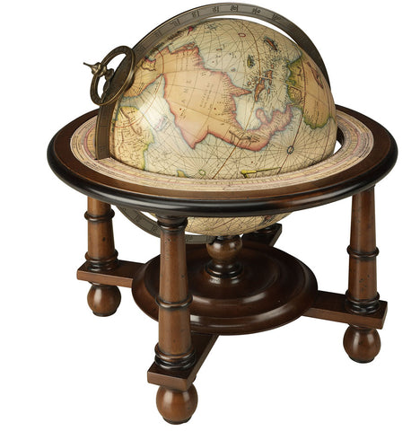 Navigator's Terrestrial Globe, French Finish