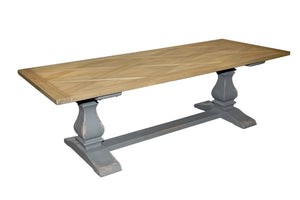 Occasional Rectangular Hampton Dining Table 2.5m