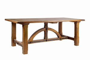 Iron Bridge Fixed Dining Table