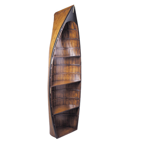 Bosun's Gig Solid Timber Row Boat Bookcase