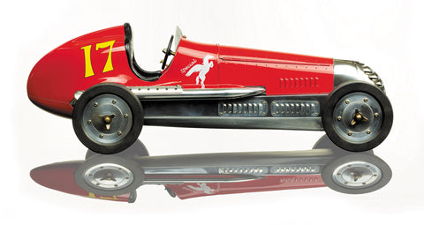 BB Korn Indianapolis Scale Model Racer, Red