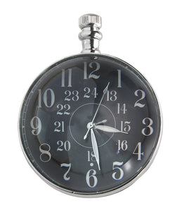 Eye Of Time Clock, Chrome