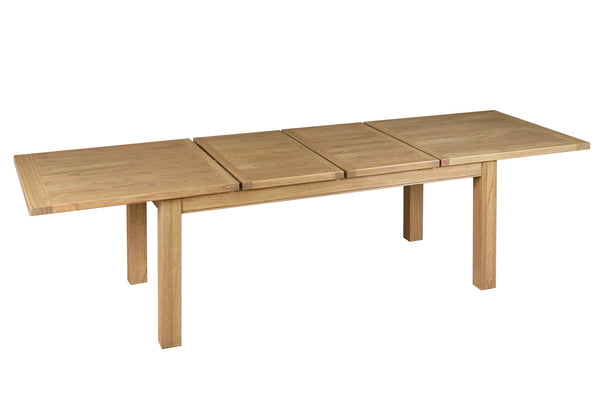Goldcoast Large extending Dining Table 180/280 Natural
