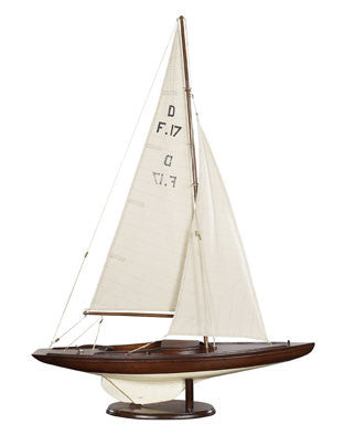 Dragon Olympic Sail Racer, French Finish