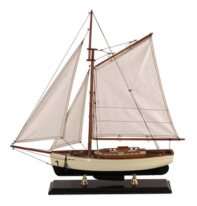 1930s Classic Model Yacht, Small