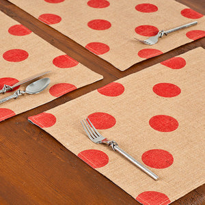 Placemat Red Dot