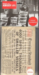 D-Day Landings Replica Newspaper