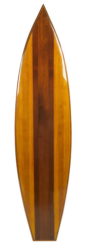 Handcrafted Classic Wooden Waikiki Surfboard