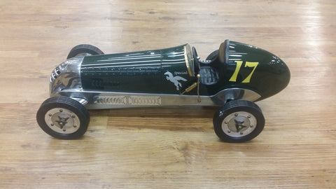BB Korn Indianapolis Scale Model Racer in British Racing Green