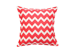 Copy of Eco-Accents Bright Pink Chevron Cotton Canvas Cushion