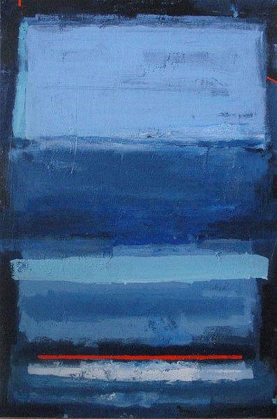 BLUE EULOGY . 48x36