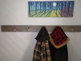 Farm Style Cedar Coat Rack