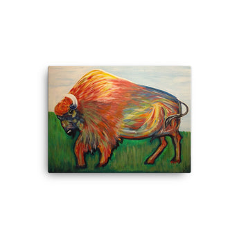 Vibrant Buffalo 12x16 Canvas Print