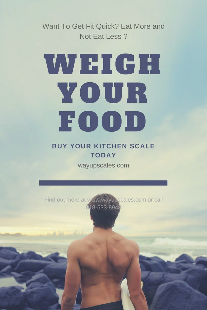 Weighing Your Food Using A Kitchen Scale