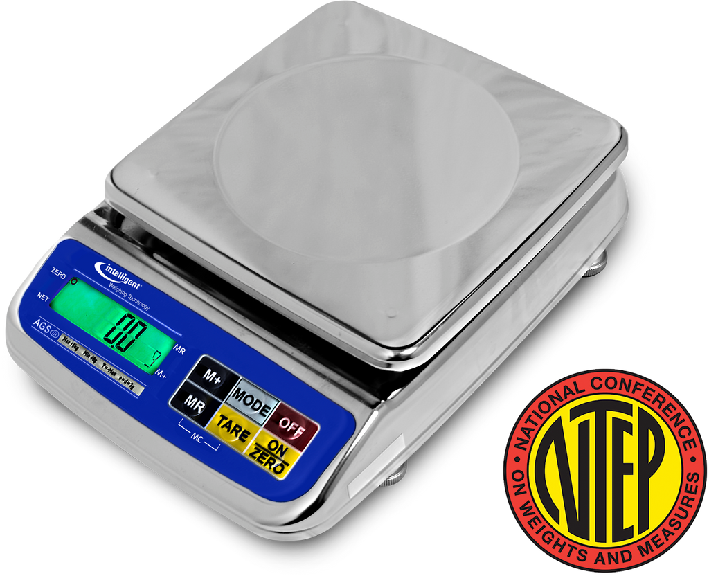 Intelligent-Weigh  Intelligent-Lab AGS-300 NTEP Washdown Precision Balance  Washdown Scale | Way Up Scales
