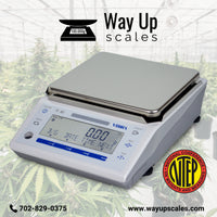 Way Up Scales  Vibra ALE-6202 NTEP Tuning Fork Centigram Balance  Precision Balance | Way Up Scales