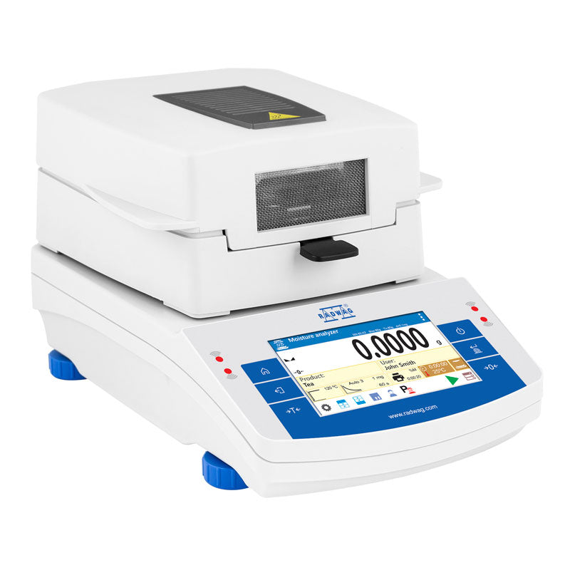 Way Up Scales  Radwag PM 50.X2 Touchscreen Moisture Analyzer  Moisture Analyzer | Way Up Scales