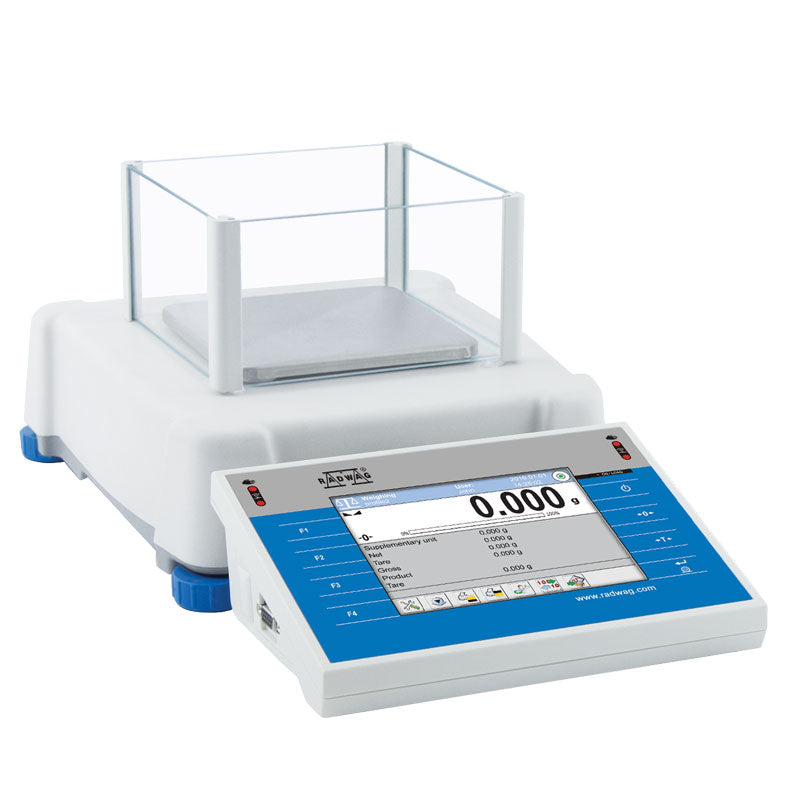Radwag  Radwag PS 1000.3Y Touchscreen Precision Balance  Precision Balance | Way Up Scales