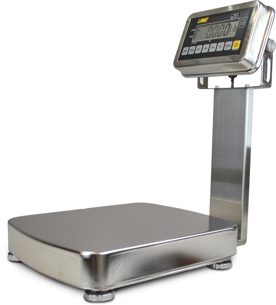 Intelligent-Weigh  Intelligent Weighing PS2-12K Washdown Industrial Bench Scale  Washdown Scale | Way Up Scales