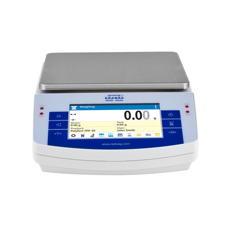 Radwag  Radwag PS 6000.X2 Touchscreen Precision Balance  Precision Balance | Way Up Scales
