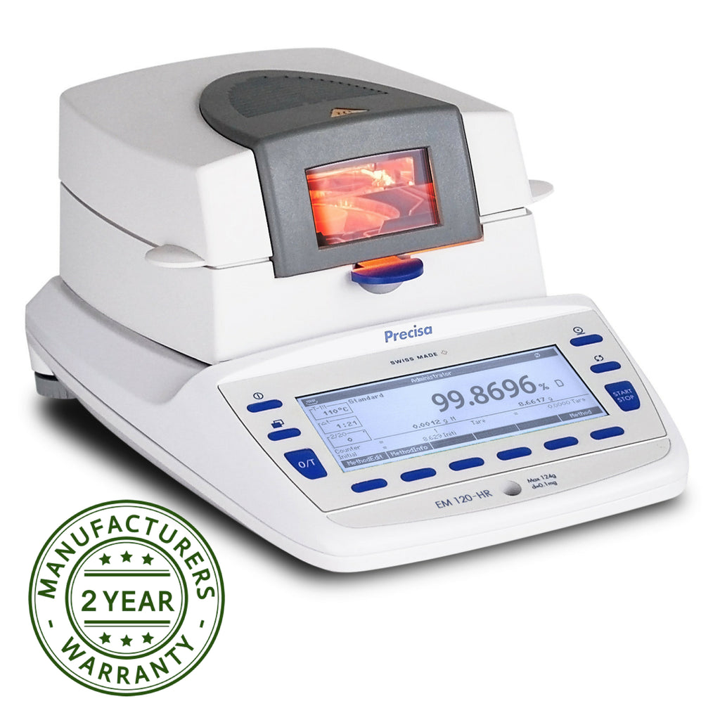 Precisa  Precisa Executive Pro EM 120-HR Moisture Analyzer  Moisture Analyzer | Way Up Scales