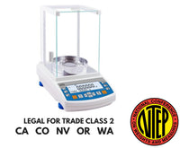 Radwag  Radwag AS 220.R2 N Analytical Balance (NTEP Model)  Analytical Balance | Way Up Scales