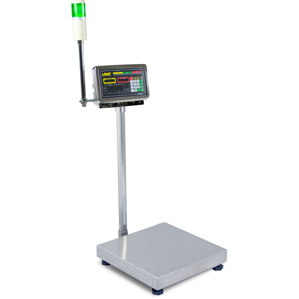 Intelligent-Weigh  UWE WSK-300-24 Stainless Steel Washdown Checkweighing Scale  Washdown Scale | Way Up Scales