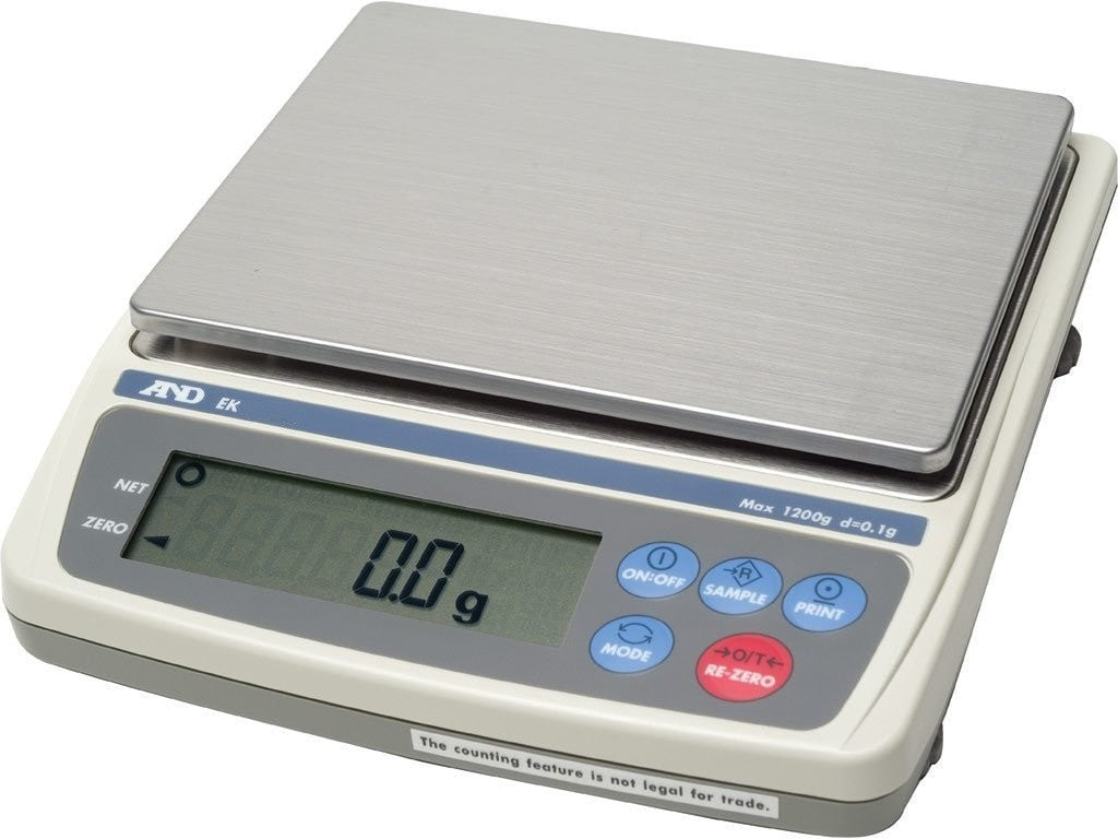 A&D EK 600i Compact Balance Class III Legal For Trade Scale