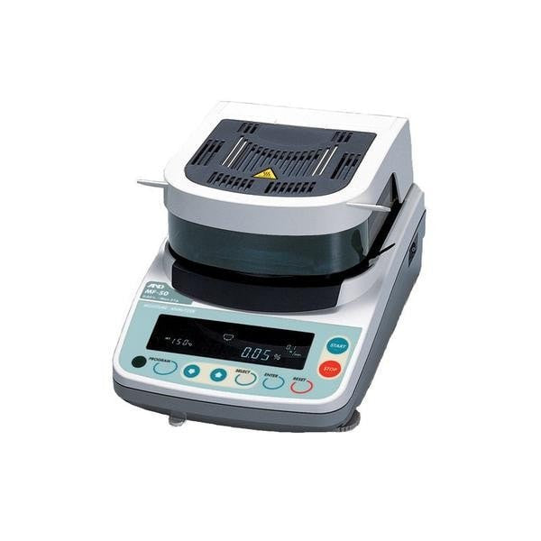 A&D  A&D MF-50 Moisture Analyzer  Moisture Analyzer | Way Up Scales