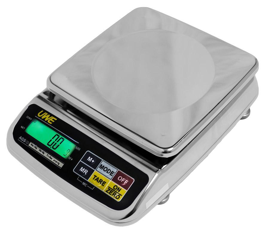 Intelligent-Weigh  Intelligent-Lab AGS-3000 Washdown Precision Scale  Washdown Scale | Way Up Scales