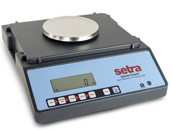 Intelligent-Weigh  Intelligent Weighing Technology QC-2.2 Setra Quick Counting Scale  Counting Scale | Way Up Scales
